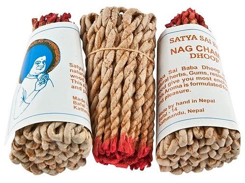 "Nag Champa Tibetan Rope Incense 45 Sticks - 3.5""L"