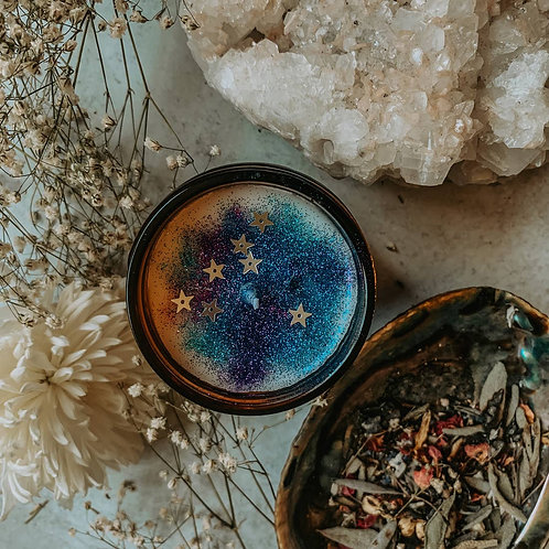 Cosmic Witch Herbal Candle 9 oz