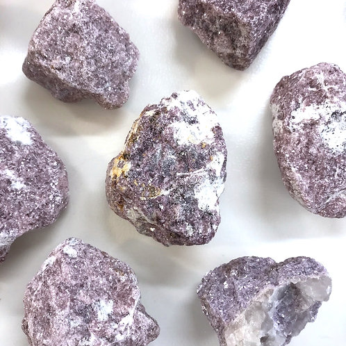 Lepidolite Raw / Rough Gemstone