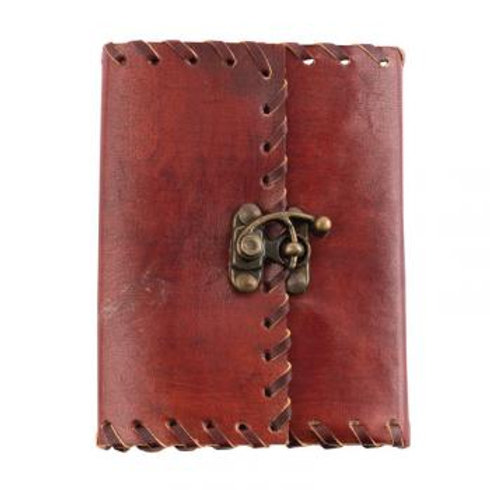 """Plain Leather Journal with Latch 5""""x7"""""""