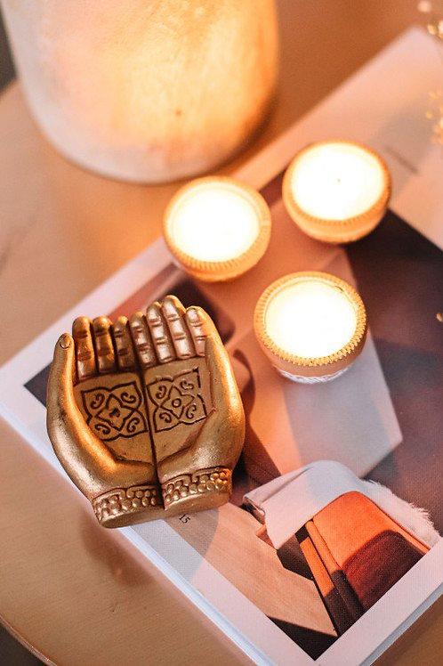 Mudra Tealight Candleholder