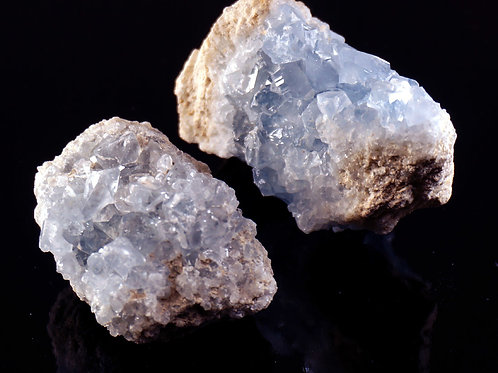 Celestite Rough Gemstone - Small & Large Sizes
