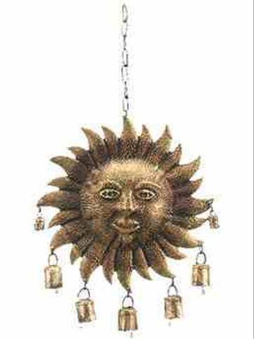 """Windchime Sun 10""""D"""