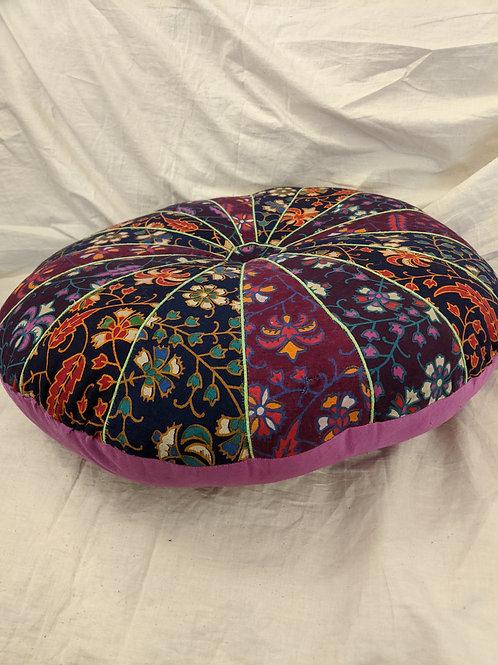 Patterned Meditation Cushion