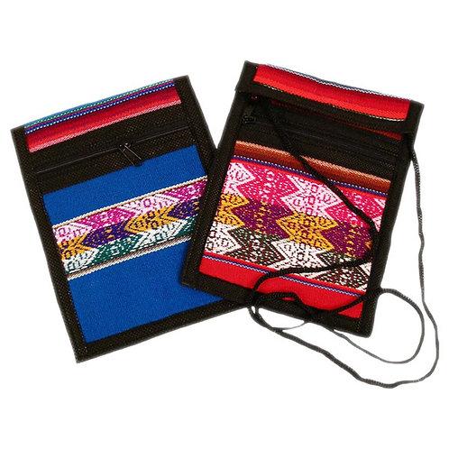 Manta Passport Wallet Travel Bag Hand Made Artisan Fair Trade Peru