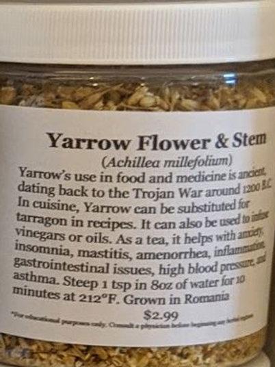 Yarrow 8 oz jar