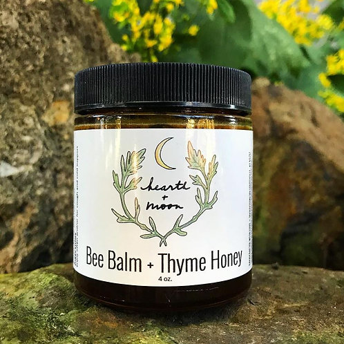 Bee Balm + Thyme Honey 4 oz