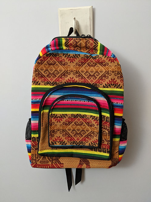 Peruvian Patterned Backpack