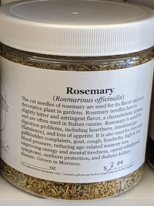 Rosemary (Dried) 8 oz jar