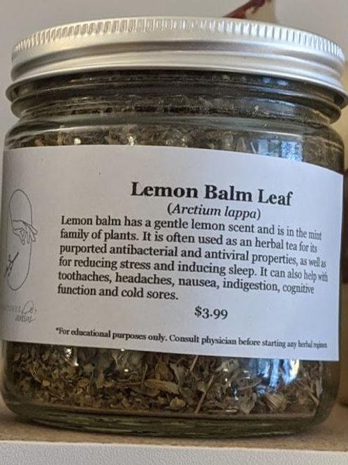 Lemon Balm 8oz