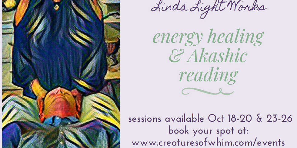 Energy Healings & Akashic Records Readings by @lindalightworks