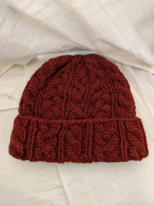 Wool Solid Color Beanie - Assorted Colors