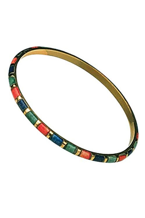 Brass & Bone Bracelet