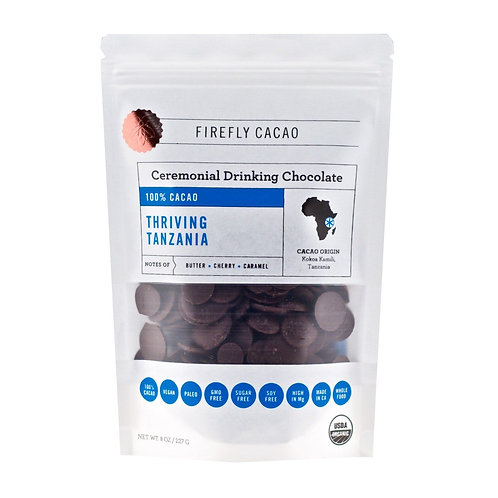 100% Ceremonial Cacao Drink - 8 oz bags - 4 different flavors