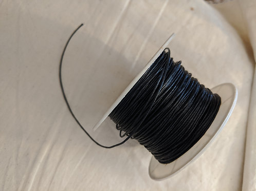 Leather, hemp, and waxed cotton cords for necklaces