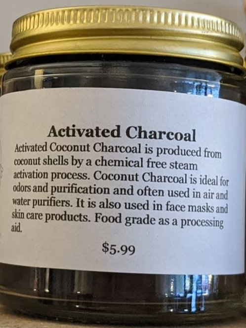 Activated Charcoal Powder 4oz