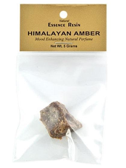 Himalayan Amber Essence Resin - 5 Gram Pack