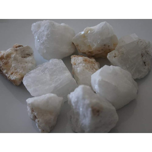Rough White Calcite