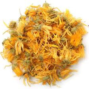 Calendula Petals - Dried - 8 oz