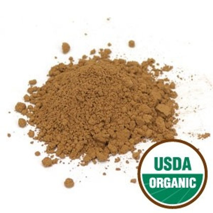 Organic Red Reishi Mushroom Powder - 2 oz jar