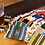 "Thumbnail: Coasters 100% Wool Hand Woven 5"" x 5"" Assorted Colors Peru"