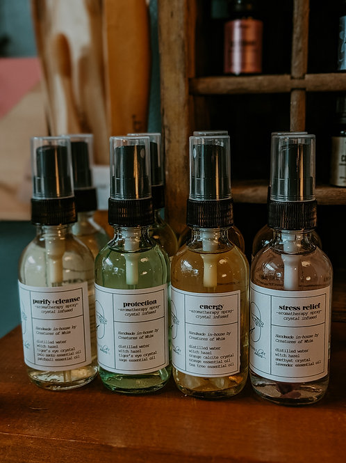 Aromatherapy Smudge / Sage Sprays - Room Sprays