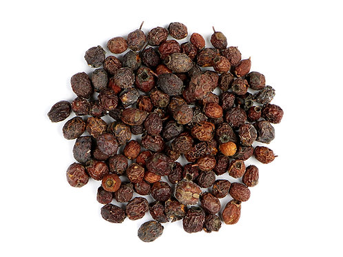 Hawthorn Berries - Dried - 8 oz jar