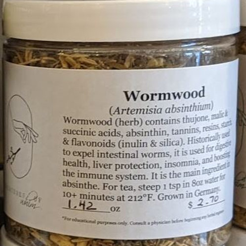Wormwood 8 oz jar