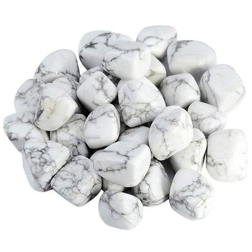 Tumbled Howlite Stones