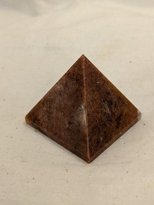 Crystal Gemstone Pyramids