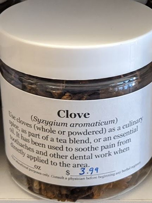 Cloves 4 oz jar