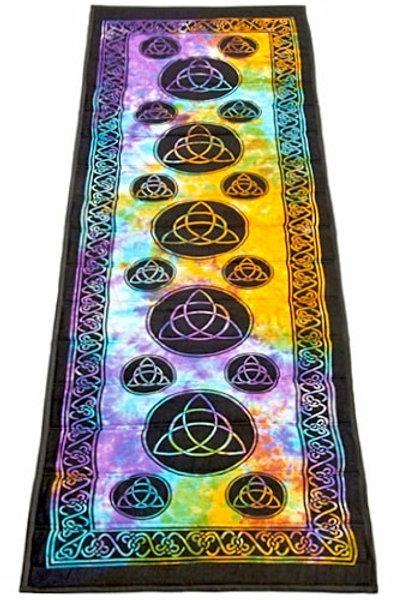 Tie-Dye Cotton Yoga Mat