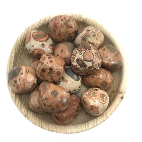 Tumbled Leopardite  Gemstones