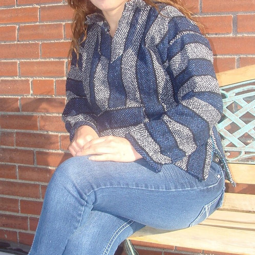 Baja Shirt Recycled Fibers Stripes Hoodie Color Assortment Unisex Extra Large