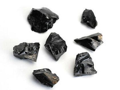 Black Obsidian Rough / Raw Crystals