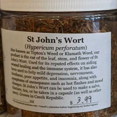 St. John's Wort 8 oz jar