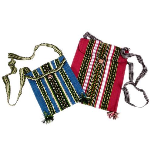 "Huallhuas Shoulder Bag Small 7"" x 9"" Tote Small"