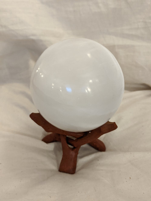 Selenite Crystal Ball (without stand)