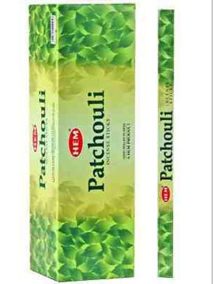 Hem Patchouli Incense - 8 Stick Packs