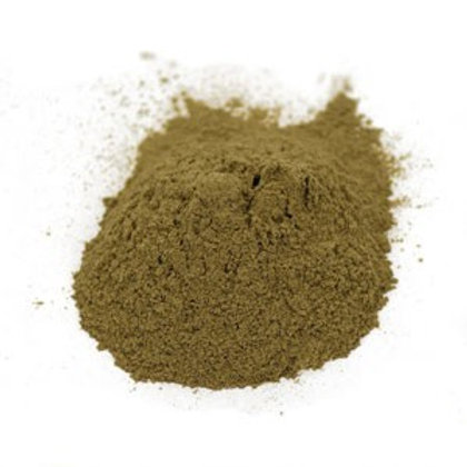 Gotu Kola Herb Powder Wildcrafted - 4 oz jar