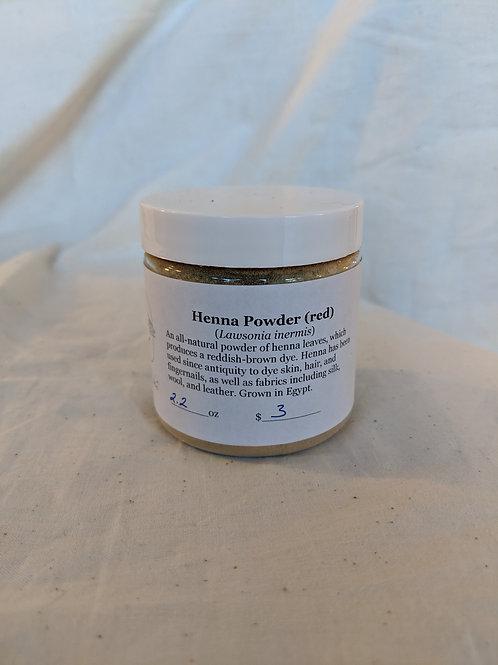 Henna Powder - 4 oz