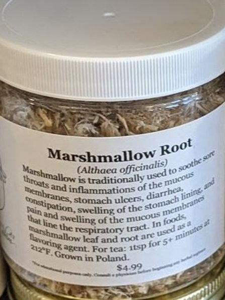 Marshmallow Root 8 oz jar