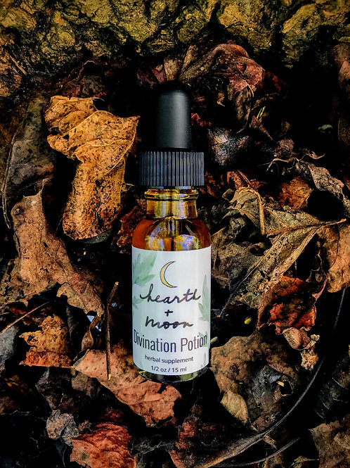 Divination Potion Tonic Tincture Extract - 1 oz