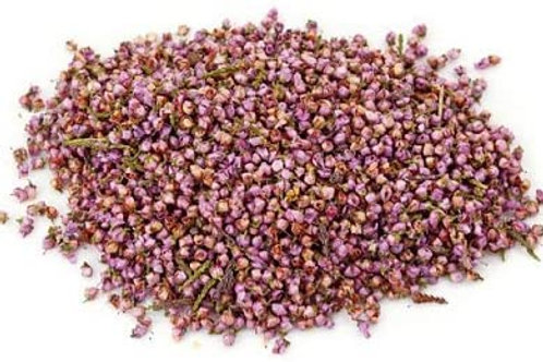 Heather Flowers - Dried - 8 oz jar