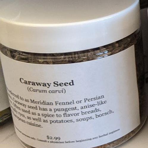 Caraway Seed 4 oz jar