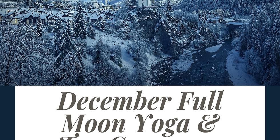December Full Moon - Circle, Yoga, & Tea Ceremony