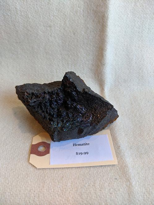 Rough Hematite Druzy Cluster Crystal