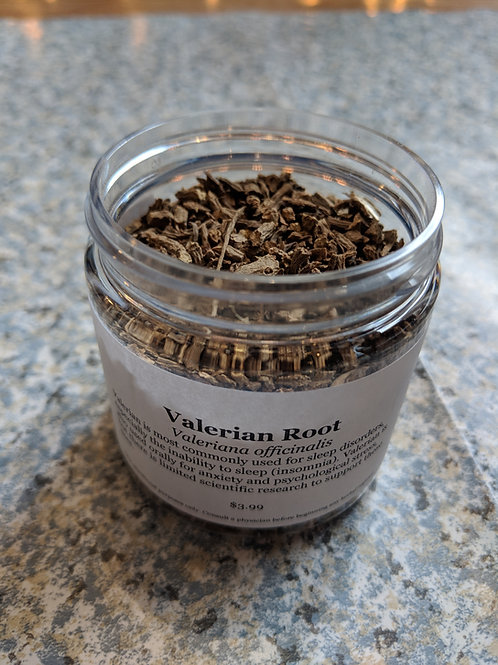 Valerian Root - Powder or Chips