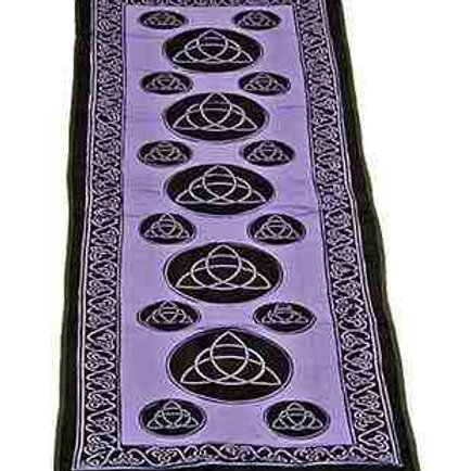 Purple Cotton Yoga Mat