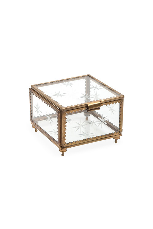 Glass Stars Treasure Box - Medium